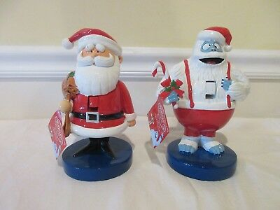 Rudolph the Red Nosed Reindeer Santa and Bumble Christmas Nutcracker Set Kurt Ad