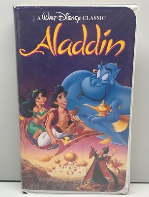Aladdin (VHS, 1993) Clamshell USED