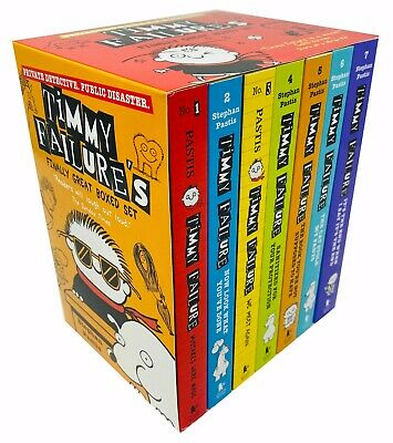 Stephan Pastis Collection Timmy Failure Totally Catastrophic We Meet 7 Books Set