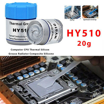 20G/Bottle Silver Thermal Paste Grease Compound Silicone For PC CPU Heatsink