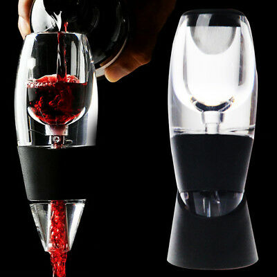Practical Bar Spout Accessories Acrylic Red Wine Pourer Aerator Fast Decanter