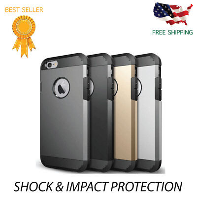 For iPhone 5S 5 Case Shockproof Hybrid Silicone Armor Tough Hard Cover phonecase