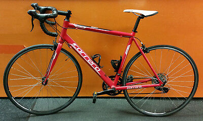 66567320cde CARRERA ZELOS 54CM Mens Road Bike Red 6061 T6 - £199.99 | PicClick UK