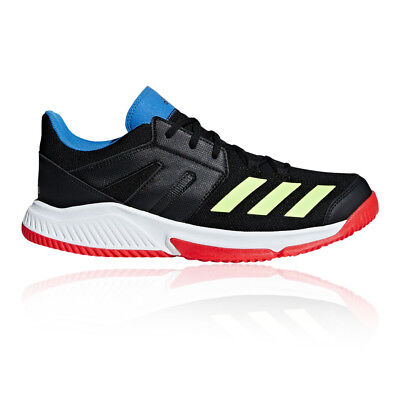 purchase cheap 8fbde d0b60 adidas Mens Essence Court Shoes Black Sports Handball Breathable Lightweight
