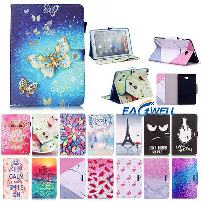 """For Samsung Galaxy Tab A 7 8.0 10.1"""" Tablet T355 T380 T580 PU Leather Cover Case"""