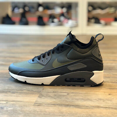 reputable site 2bcd2 f0c98 Nike Air Max 90 Ultra Mid Winter Gr.44 Schuhe Sneaker Herren grün 924458 300