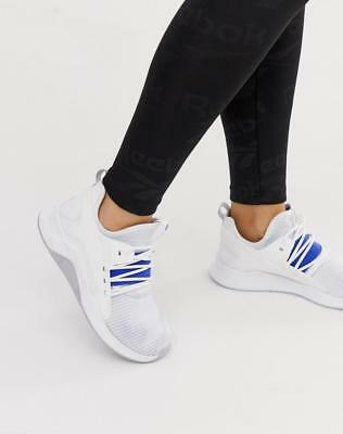 f09bc46fcd7 Reebok Women s Training Guresu Sneakers Shoes In White And Blue