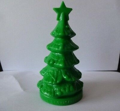 Mold A Rama Green Christmas Tree Museum Science & Ind Chicago Happy Holidays