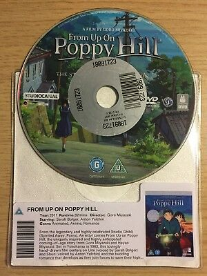 From Up On Poppy Hill (DVD, 2013) DISC ONLY