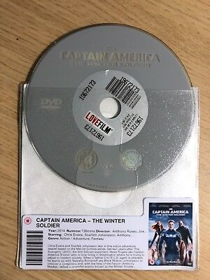 Captain America- The Winter Soldier (Dvd, 2014) Disc Only
