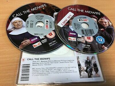 Call The Midwife - Series 1 - Complete (DVD, 2012, 2-Disc Set) DISC ONLY