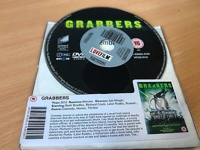 Grabbers (DVD, 2012) DISC ONLY
