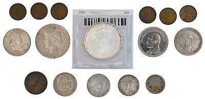 Miscellaneous U.S. Coins, Tokens, Medals, and Foreign Coins.