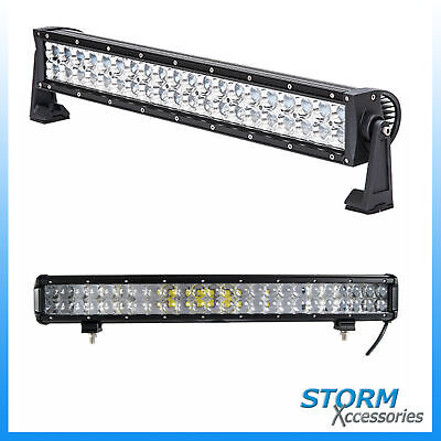Duoside 22 Inch Led Lightbar With Drl - Flood Spot Combo Offroad Light Bar