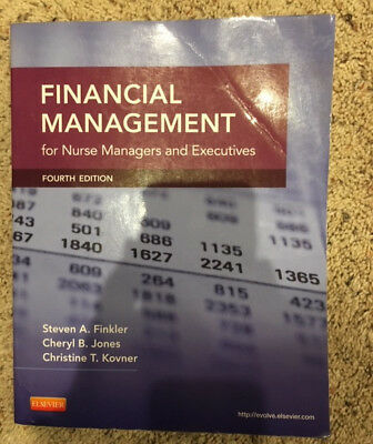 Financial Management for Nurse Managers and Executives by Cheryl Jones,...