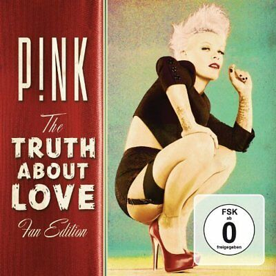 Pink-The Truth About Love (UK IMPORT) CD with DVD NEW