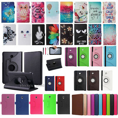 For Samsung Galaxy Tab A 8.0 SM-T380 T385 2017 Various Leather Smart Cover Case