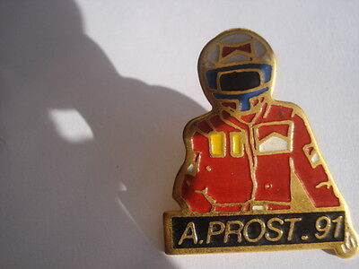 Formel 1 Motorsport Pin Grand Prix 1991 France Alain Prost 41x19mm emailliert Speldjes