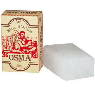 Osma Alum Block (75g) - Soothe Skin After Shaving & Fight Ingrown Hairs