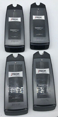 GuestCall® CommPass Pager JTECH LOT OF 4