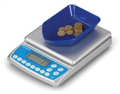 Salter Brecknell Coin Counter Electronic Checking Scale UK Coins Model CC-804