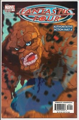 Marvel Fantastic Four Vol 1 #506 January 2004 VG condition Bagged