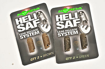 Korda NEW Heli Safe Dropper/Bead Chod Helicopter Lead Release System