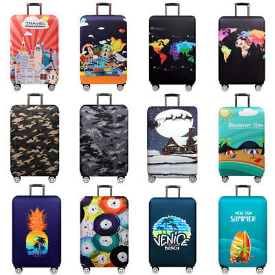 "Elastic Dust Trolley Case Luggage Suitcase Travel 18""-32"" Protective Cover Bag"