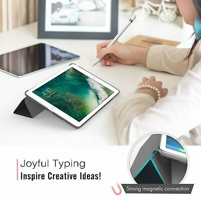 For Apple iPad 6th Generation 2018 9.7 Slim Magnetic Leather Smart Cover Case