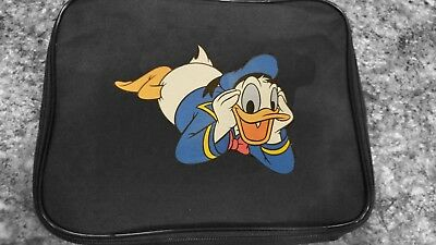 TRADING PIN BOOK FOR DISNEY PINS DONALD DUCK BAG  LARGE DISPLAY CASE