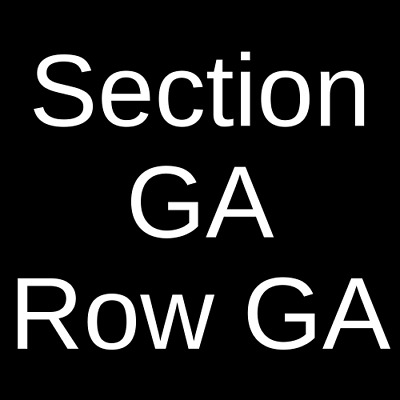 4 Tickets Stick Figure 4/7/19 Brewster Street Ice House Corpus Christi, TX