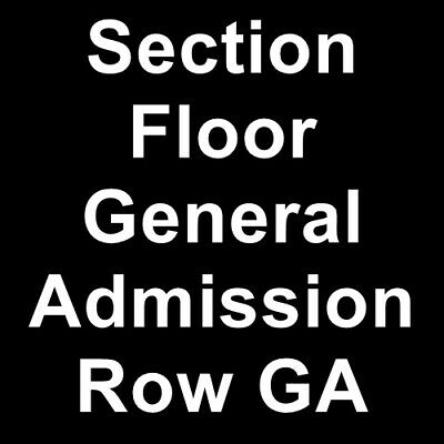 2 Tickets Greta Van Fleet 5/22/19 The Dome Center Henrietta, NY