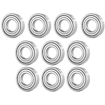 10 Pcs Premium 6001 ZZ  ABEC3 Metal Shields Deep Groove Ball Bearing 12x28x8mm
