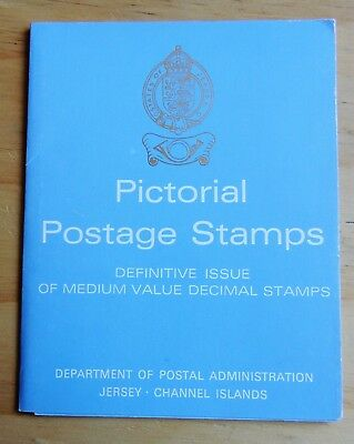 (C) JERSEY PRESENTATION PACK - PICTORIAL POSTAGE STAMPS Medium Value ISSUE