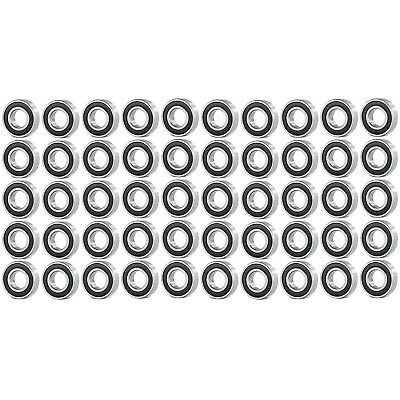 50 Pcs Premium 6801 2RS ABEC3 Rubber Sealed Deep Groove Ball Bearing 12x21x5mm