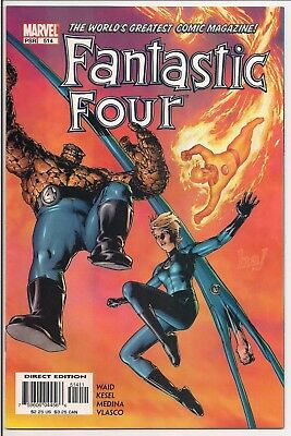 Marvel Fantastic Four Vol 1 #514 Aug 2004 first print VG First App Cole Wittman