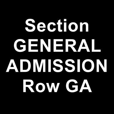 2 Tickets Atmosphere 1/31/19 Albuquerque Convention Center Albuquerque, NM