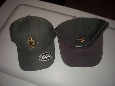 1d00bd7b61e2c WEST VIRGINIA MOUNTAINEERS Top of the World Fitted Hat Cap Brand New ...