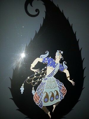 Erte R Tirtoff Bayadere Signed Numbered Serigraph Lim Edition 123/300 With Coa