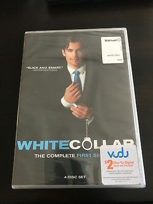 White Collar: The Complete First Season 1 One (DVD, 2010, 4-Disc Set) - NEW!