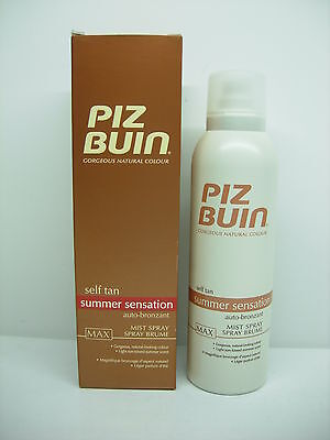Piz Buin Self Tan Autobronzants Spray Corps Max 150 Ml