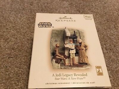 2007 Hallmark Star Wars Ornament A Jedi Legacy Revealed