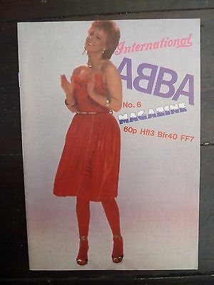 Official ABBA International Magazine No.6 May 1982 EXCELLENT NEAR MINT CONDITION
