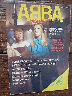 Official ABBA Magazine No. 17 1979  GOOD CONDITION
