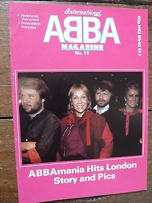 Official ABBA International Magazine No. 15 1983 MINT CONDITION