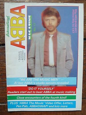 Official ABBA International Magazine No. 17 1983 EXCELLENT CONDITION