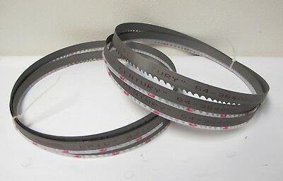 "Lot of 2 New SIMONDS EPIC 4210 Band Saw Blades 138"" (11'-6"") x 1"" Wide 64-364000"