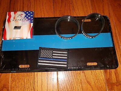 Thin blue line police related items
