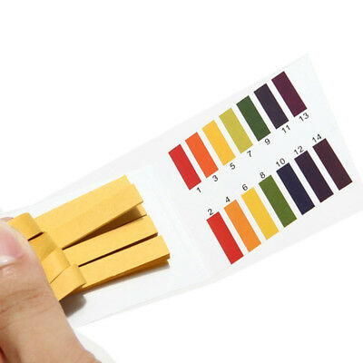 160Pcs Saliva Lab PH Indicator Test Strips 1-14 Litmus Tester Paper Lab Tool