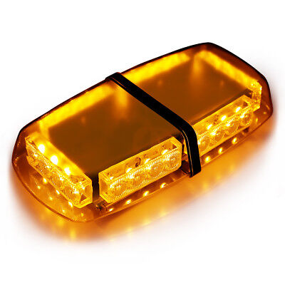 Finether 24LED Emergency Vehicle Light Bar, Strobe light Flashlight Enforcement